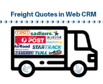 Freight Quoting in Web CRM