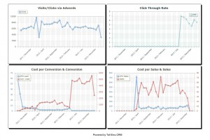 more Adwords & Analytics charts