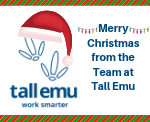Merry Christmas from the Team at Tall Emu