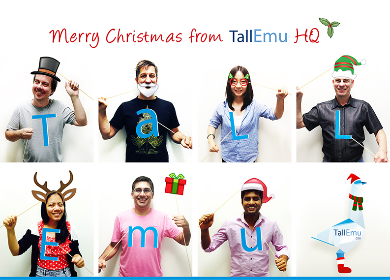 Tall Emu Christmas
