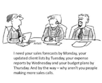 If I doubled the size of your sales team would your sales increase?
